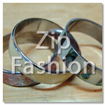 shell inlayed bangles backing with steel
