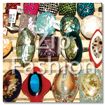 philippines natural components shell indlayed rings